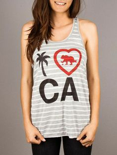 I Heart CA Racerback = Cute!!
