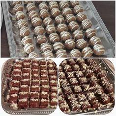 Zserbó bonbon, egy egyszerű sütés nélküli finomság, Hungarian Desserts, Winter Food, Cake Cookies, Truffles, Wedding Cakes, Recipies, Dessert Recipes, Food And Drink, Sweets