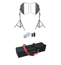 Another great lighting kit from Studiohut:  Use it to set up a home studio and provide enough lighting power without heating up your subjects.