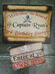 Birthday Party Kids Boys Pirate Ships Ideas For 2019 Pirate Kids, Pirate Halloween, Pirate Day, Pirate Birthday, Pirate Theme, Boy Birthday, Birthday Stuff, Birthday Nails, Third Birthday