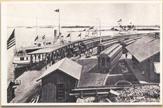 The Thousand Islands Alexandria Bay, Thousand Islands, Historical Images, Train Station, Vintage Images, Places To See, Paris Skyline, Louvre, River