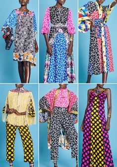 Duro Oluwu, a Patternbank Studio favourite, has produced this fabulous collection of vibrant bold graphics mixed with beautifully painted kimono florals for SS17. This is the first of our new fast paced highlights for London Fashion Week.