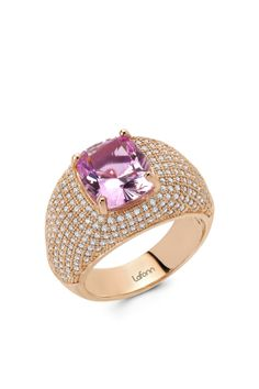 pink sapphire ring <3