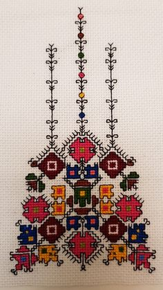 Bulgarian embroidery.
