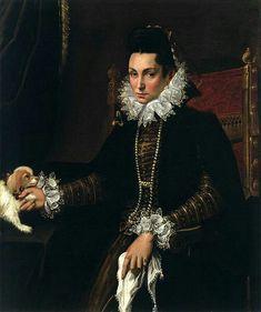 Ritratto di Ginevra Aldovrandi Hercolani. 1590-1595. Olio su tela. Walters Art Museum