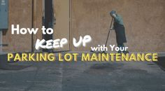 how to keep up with parking lot maintenance asphalt repair sealcoating potholes Parking Space, Parking Lot, Asphalt Repair, Asphalt Pavement, Paving Contractors, Play Your Cards Right, Keep Up, Talking To You, Real Estate Marketing