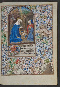 Getijdenboek van Simon de Varie (deel 1) - 066r -  http://www.kb.nl/bladerboek/devarie/browse/index_1.html