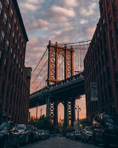 DUMBO with Empire State Building hiding behind - awesome pretty wall. - DUMBO with Empire State Building hiding behind – awesome pretty wallpapers City Aesthetic, Travel Aesthetic, Building Aesthetic, Places To Travel, Places To Go, Travel Destinations, Voyage New York, City Vibe, Nyc