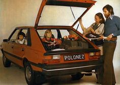 Polonez - The car that built Poland =DD Poland Country, Car Polish, Good Old Times, Cool Jeeps, Jeep Truck, Cool Countries, Retro Cars, Go Kart, Car Pictures
