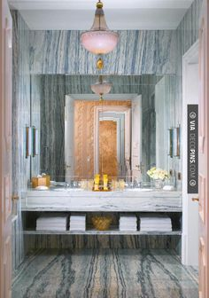 Like this! - MARBLE PASTEL BATHROOM | CHECK OUT MORE VANITIES AND VANITY IDEAS AT DECOPINS.COM | #vanities #vanities #vanity #jewelrydrawer #jewelrychest #jewelry #mirror #mirroredvanity #jewels #frenchvanity #antiquevanity #bluevanity #purplevanity #pinkvanity #blackvanity #whitevanity #redvanity #greenvanity #yellowvanity