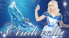 Cinderella Makeup Tutorial & Cosplay Transformation
