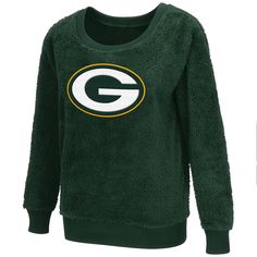 Green Bay Packers Sherpa Guide Women s Pullover 04240f4c9