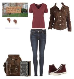"""Still not here! Eve Swan!"" by selenerose-328 ❤ liked on Polyvore featuring rag & bone and Converse"