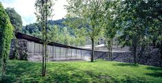 Key projects by Pritzker Prize 2017 winner RCR Arquitectes: Les Cols Restaurant Marquee, Olot, Girona, Spain Contemporary Architecture, Landscape Architecture, Landscape Design, Architecture Design, Spanish Architecture, Amazing Architecture, Santiago Calatrava, Prix Pritzker, Key Projects