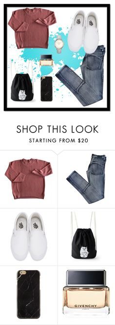 """""""Everyday outfit😇😇"""" by natally-fashion ❤ liked on Polyvore featuring Cheap Monday, Vans and Givenchy"""