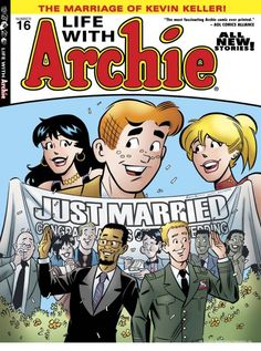 A gay wedding. On an Archie comic cover. (Yes, it's real.)
