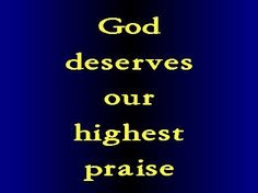Sing the glory of His name; give to Him glorious praise!  Psalms 66:2 ESV