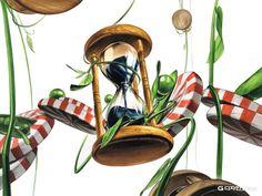 2018 최상위 미대 지원 라인 대구 그린섬 미술학원 입니다. 날씨가 아직도 덥고 습하네요. 여름을 보내며 ... Art Sketches, Art Drawings, Digital Painting Tutorials, Korean Art, Gouache, Still Life, Design, Animals, Inspiration