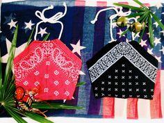 #coachella #Bandana #Halter Top by NamanyaBeachwear on Etsy