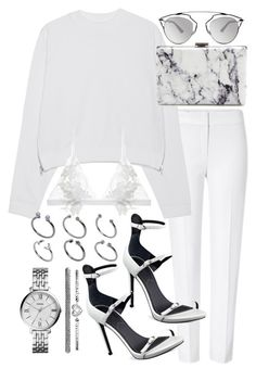 """Untitled #19572"" by florencia95 ❤ liked on Polyvore featuring ESCADA, Acne Studios, Balenciaga, Christian Dior, Kendall + Kylie, For Love & Lemons, ASOS, FOSSIL, women's clothing and women"