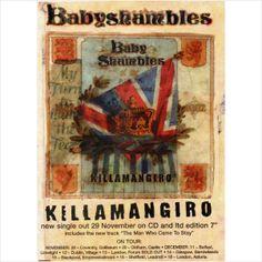 Babyshambles Killamangiro Promotional Postcard