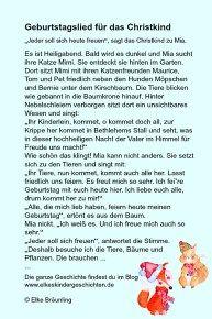 Geburtstagslied Fur Das Christkind Geburtstagslieder Christkind Geschichten Fur Kinder