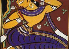 Jamini Roy, Saree Painting, Madhubani Art, Africa Art, Famous Art, Dance Art, Gods And Goddesses, Pictures To Draw, Indian Art