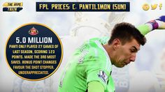 HOW DO ONLY 2% OF #FPL PLAYERS OWN PANTI? Heresy. (lei, NOR, SWA, avl, TOT, bou) - he's 3 points minimum a match.