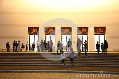 Photo about National Theatre Ion Luca Caragiale in Bucharest night, Romania - main entrance. Image of historical, historic, culture - 78133788 National Theatre, Main Entrance, Bucharest, Romania, Maine, Editorial, Stock Photos, Night, People