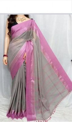 handloom soft pure cotton saree