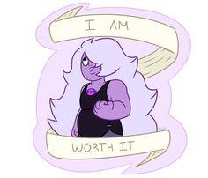 Amethyst - I am Worth It. Steven Universe