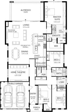 Verona, Single Storey Display Floor Plan, WA