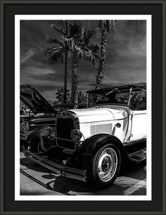 Model A Ford Framed Print featuring the photograph Sentimental Longing by Marnie Patchett