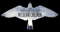 One of the first logos from Tim Burton's Miss Peregrine's Home for Peculiar Children posted to his own Facebook page. From Movieweb.