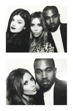 Love The Kardashian's Family: Kylie Jenner, Kim Kardashian and Kanye West