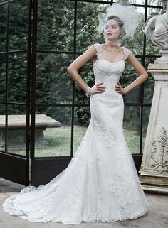 Rachelle - by Maggie Sottero // #SuzannesBridal #Fall2015