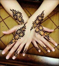 Khaleeji Mehndi Designs - Beautifully Ornate