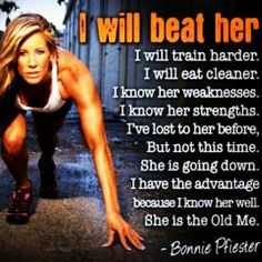Compete with Myself, Not Other Women! - Women Fitness Motivation
