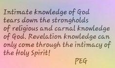 Know God know life!