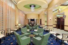 The Lobby at the Hilton Asheville