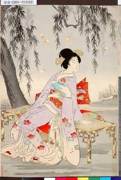 Toyohara Chikanobu    Date:1896