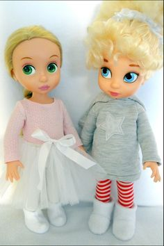 Posh vs Pop! Disney Animator Dolls