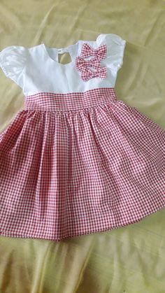 Cute Baby Dresses, Baby Girl Party Dresses, Toddler Girl Dresses, Little Girl Dresses, Baby Frocks Designs, Kids Frocks Design, Baby Girl Dress Patterns, Baby Clothes Patterns, Little Girl Fashion