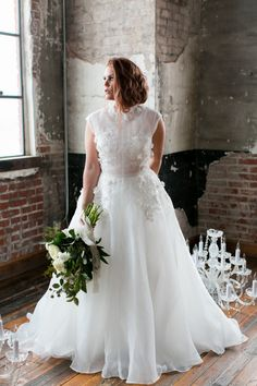 Affordable Couture Plus Size Wedding Gowns   Marlo Ford Collection - Sophie dress