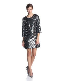 JB by Julie Brown Women's Maggie 3/4 Sleeve Dress with Chervon Sequins, http://www.myhabit.com/redirect/ref=qd_sw_dp_pi_li?url=http%3A%2F%2Fwww.myhabit.com%2F%3F%23page%3Dd%26dept%3Dwomen%26sale%3DA7J11K049C511%26asin%3DB00GOYBV1S%26cAsin%3DB00FIXM35Y