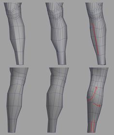 Model legs in Maya Zbrush, 3d Model Character, Character Modeling, Character Design, Wireframe, Blender 3d, Polygon Modeling, Model Legs, Modeling Tips