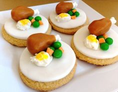 thanksgiving day cupcakes