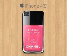 iPhone 4 Case, iPhone 4S Case Black, Nail. If only they had it in the 5.