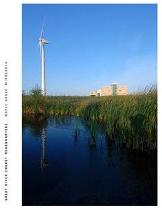 Great River Energy Headquarters | AIA Top Ten Top Ten, Wind Turbine, Organization, River, Getting Organized, Organisation, Rivers