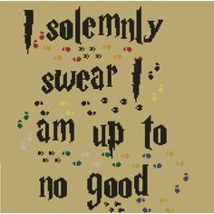 I Solemnly Swear - atypicalstitches